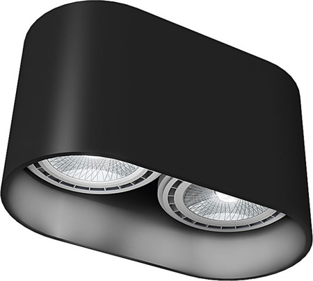 Oval Black 9240 I Nowodvorski Lighting